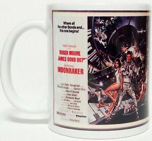 300ML CERAMIC COFFEE MUG - JAMES BOND 007, MOONRAKER