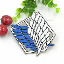 Attack on Titan Cosplay Scouting Legion Badge Patchs Embroidery #MID Anime