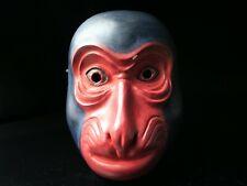 Japanese Handmade SARU mask noh kyougen kagura demon mask bugaku