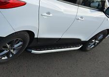 ALUMINIUM RUNNING BOARDS SIDE STEPS SIDE BARS FOR VOLVO XC60 2008+