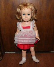 "Vintage Original 1960 Mattel ""CHATTY CATHY"" Doll 20"" & Original Outfit MCMLX"