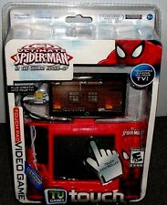 Spiderman Touch Pad Video Game - Plug In **NEW - STILL IN PACKAGE**