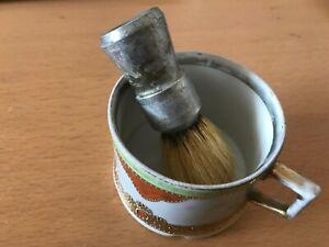 Vintage Porcelain  Shaving Mug Cup   pre Used