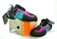 Mad Rock Women's Lotus Climbing Shoes-Teal/Violet - Women's Size 9 US Euro 40