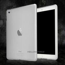 Ultra-Thin Warp White Clear TPU Gel Rubber Soft Skin Case for Apple iPad Air 2