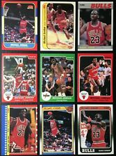 Lot of 9 Michael Jordan Reprint Cards - Mint - Chicago Bulls