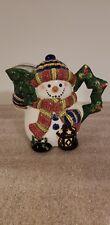 Vintage Snowman Teapot By: World Bazaars