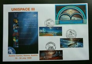 [SJ] United Nations Unispace 1999 Earth Space Planet Universal Astronomy (FDC)