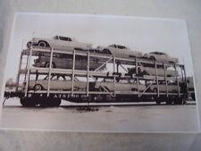 1964 FORD LINCOLN MERCURY FALCON ON TRAIN CAR  11 X 17  PHOTO  PICTURE
