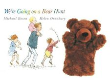 We're Going On A Bear Hunt Story Glove Puppet Book Set Teaching EYFS KS1