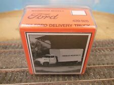HO SCALE MAGNUSON MODELS 439-926 '56 FORD DELIVERY TRUCK KIT