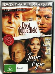 David Copperfield / Jane Eyre - 2 Movies on 1 DVD - AusPost with Tracking