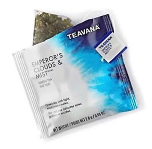 FRESH STOCK Starbucks Teavana Tea Emperor's Clouds and Mist 100 Sachets No Box