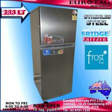 Eurotag EU-288FS 288LT. Refrigerator FRIDGE FREEZER  Stainless Steel RRP$795.00