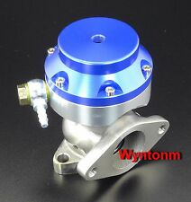 38MM 6 PSI External Wastegate Turbo Stainless Steel MINI Dump Valve  Blue II