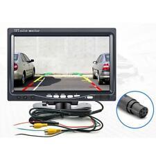 7 Inch TFT LCD Color HD Mirror Monitor Car Reverse Rear View Backup Camera
