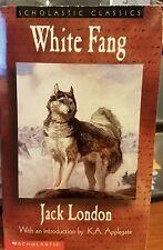 White Fang by Jack London Mass Market Paperback Book (English)