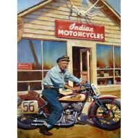 DIY 5D Diamond Painting Full Drill Crafts Kits Embroidery Motorcycle Store Decor