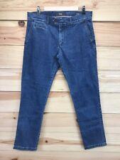 Brax Mens Jeans Size 36 x 30 Everest Regular Stretch Tapered Leg Medium Wash B14