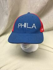 Nike Team NBA Philadelphia Sixers Baseball Cap Wool/Rayon Flex Size 7 5/8-7 7/8-