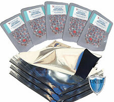 (50) Quart PREMIUM Mylar® Bags + (50) 300cc Oxygen Absorbers + FREE LTFS Guide