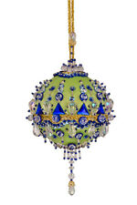 The Cracker Box Inc Christmas Ornament Kit Chartres on Celery wilt royal accent