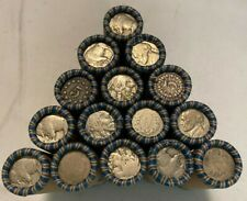 US Nickel Rolls Jefferson Buffalo Nickels Liberty Silver 40 Nickels 1866-1964
