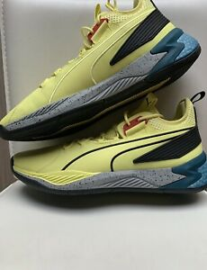 Puma Uproar Spectra SAMPLE ATHLETE EXCLUSIVE Limelight Black SZ: 16 Basketball