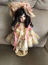 SFBJ 236 paris Reproduction Porcelain Doll  1985 MRalston Missing Kid Leather Sh