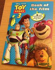 TOY STORY 3 BOOK OF THE FILM Disney Pixar (NEW)