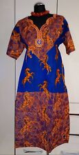 Gorgeous Traditional African A-line Dress - size UK 20      (#B20)