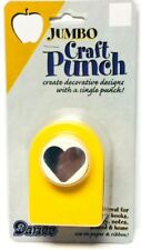 Heart shaped paper punch  jumbo size Darice - New