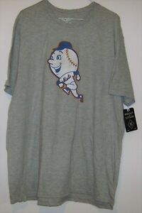 NWT Wright And Ditson New York Mets Team Graphic T-Shirt Distressed Gray 3XL