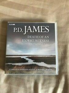 8 CD AUDIO BOOK  ~  DEATH OF AN EXPERT WITNESS by P. D. JAMES