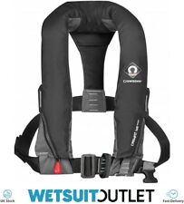 Crewsaver Crewfit 165N Sport Automatic With Harness Lifejacket Black 9015BLA