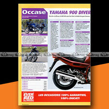 ★ YAMAHA 900 DIVERSION ★ 2004 Article de Presse Guide achat Occasion Moto #b201