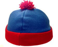 Stan Marsh South Park Costume Hat Blue Red Fleece Ski Cap Comedy Central TV