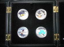 Canada 2016 Birds of Canada Set 4 coins $20 pure silver 1 oz Exclusive Box