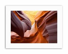 ANTELOPE CANYON GEOLOGICAL FORMATION Poster Canvas art Prints