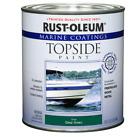 Marine Boat Wood Metal Fiberglass Topside Paint Coating Gloss Green 1 Quart Gift