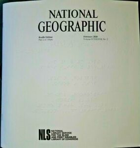 National Geographic - December 2020 (Braille for the Blind)