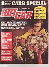 HOT CAR JULY 1976