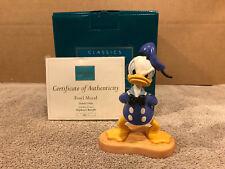 "WDCC  Donald Duck ""Fowl Mood"" + Box/COA"