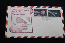NAVAL SPACE COVER 1966 GEMINI GTA-10 RECOVERY SHIP USS B STODDERT (DDG-22) (3786