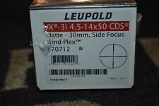 Leupold VX-3i 4.5-14x50mm CDS Matte Blk 30mm Tube Side Focus Wind-Plex 170712