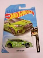 MATTEL Hot Wheels  FORD FOCUS RS Green brand new sealed