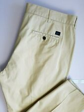 LACOSTE MENS CHINO GOLF TROUSERS W42 L28 BEIGE