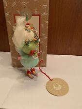 Patience Brewster Three French Hens Ornament - Twelve Days Of Christmas