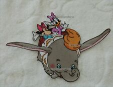 DISNEY Dumbo with Minnie and Daisy Ride Scrapbook Printed Paper Piece - SSFFDeb