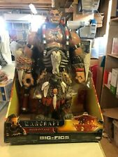 Warcraft Durotan Action Figure 18 INCH  MINOR BOX DAMAGE